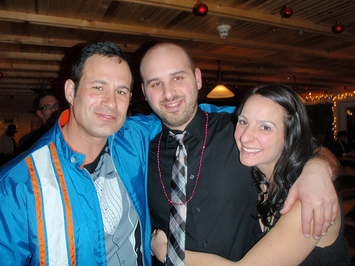 Sam, my wife and I @ Dogfish on New Years Eve