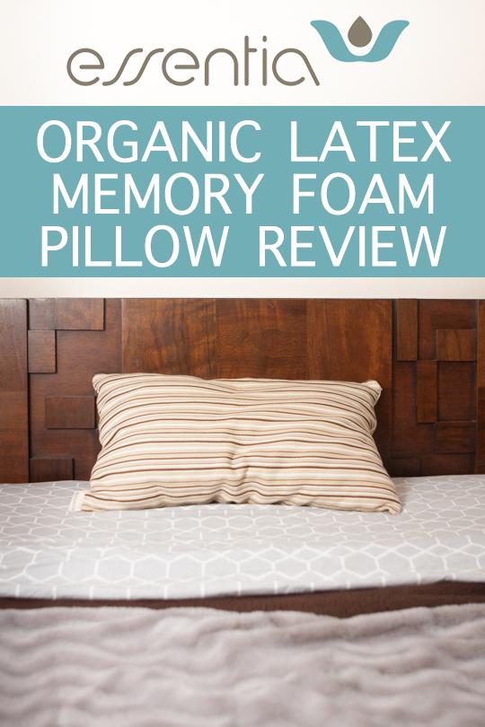 Essentia Organic Memory Foam Pillow Review | Leafygreen.info